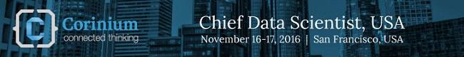 Chief Data Scientist Forum, San Francisco, Nov 16-17