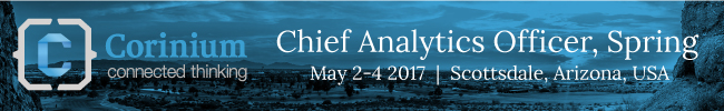 Chief Analytics Officer, Spring: May 2-4 2017, Scottsdale, AZ – Offer